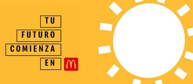 aplicar online para trabajar en McDonald's