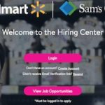 Walmart online job application